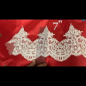 Wedding Veil Lace white.